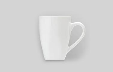 Coffee cup- white mug